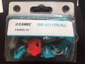6 barrel kit Camec one key fits all Para Hills West Salisbury Area Preview