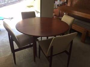 Dining Table + Chairs Cherrybrook Hornsby Area Preview