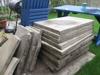 """Free Large Paving Slabs 36""""x24"""" will need 2 people to collect! Ideal for shed base or hardcore"""