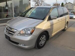 2007 Honda 0dyssey TOURING SUNROOF NAV LOADED 176,000k $13.995