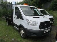 Ford Transit 350 L2 2.2 Tdci 100Ps S/Cab Tipper DIESEL MANUAL WHITE (2014)