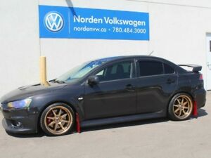 2014 Mitsubishi Lancer Evolution GSR - 2 SETS OF WHEELS / TIRES