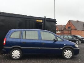 AUTOMATIC VAUXHALL ZAFIRA 2005 5DR PETROL FULL YEAR MOT GOOD CONDITION