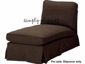 IKEA EKTORP Cover for EKTORP chaise lounge slipcover