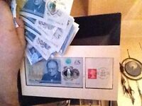 Notes Scottish polymer fivers five pound notes uncirculated AA-AZ's 2x AK47s one is the real McCoy