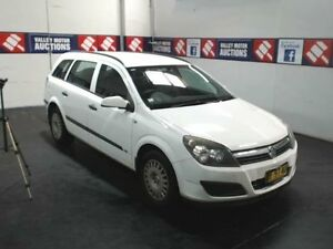 2006 Holden Astra AH MY06.5 CD White 4 Speed Automatic Wagon Cardiff Lake Macquarie Area Preview
