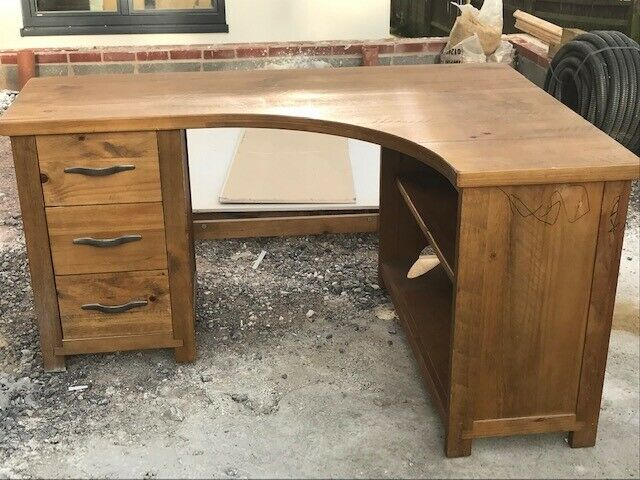 san francisco 38321 51be6 Solid Wood Corner Desk - Solid wood in good condition - From Next Hartford  Furniture Range | in Chippenham, Wiltshire | Gumtree