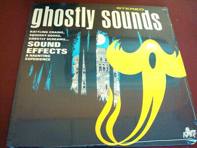 GHOSTLY SOUNDS HALLOWEEN RECORD LP (SEALED) ](Halloween Sounds Record)