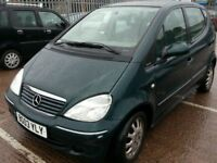 MERCEDES BENZ A170 CDI LOW MILES 68K 5DR MPV LEATHER DIESEL