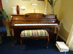 Upright Whitney Piano by Kimball in Great Condition