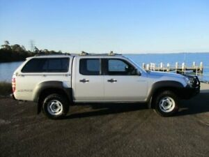 2007 Mazda BT-50 B3000 DX (4x4) Silver 5 Speed Manual Dual Cab Pick-up Dapto Wollongong Area Preview
