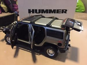RARE 1:18 SCALE PEWTER TAUPE H2 HUMMER HIGHWAY 61 NEW W BOX Windsor Region Ontario image 3