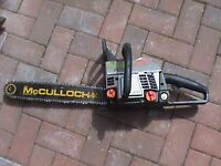 Pro McCulloch45 sprocket tip chainsaw