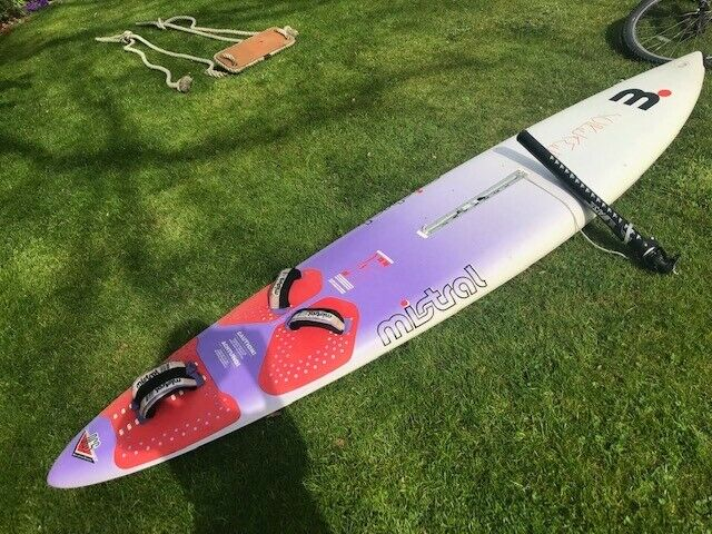 Windsurf board, mast, mast foot and boom, Mistral Screamer old but great  condition, £20 to collect | in Edinburgh | Gumtree
