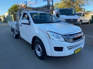 2016 Isuzu D-MAX TF MY15.5 SX (4x2) White 5 Speed Manual Cab Chassis Waratah Newcastle Area Preview