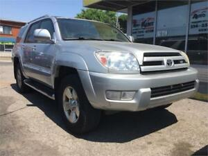 2003 Toyota 4Runner Limited CUIR  TOIT OUVRANT  4X4      3999$