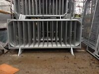 Crowd control pedestrian barriers temporary security barriers £20