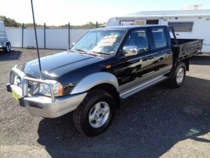 2006 Nissan Navara D22 ST-R (4x4) Black 5 Speed Manual Dual Cab Pick-up Sandgate Newcastle Area Preview