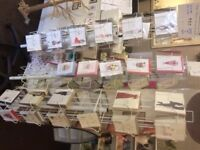 Greetings Cards stands