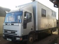 Ford Iveco 7.5 Tonnes Horsebox £5000.00 ONO