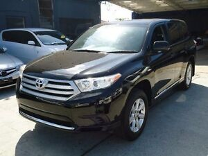 2013 Toyota Kluger GSU40R MY11 Upgrade KX-R (FWD) 7 Seat Black 5 Speed Automatic Wagon