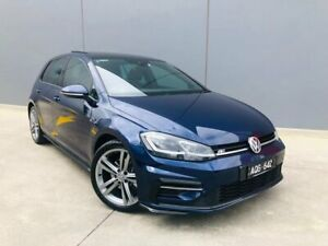 2017 Volkswagen Golf 7.5 MY17 110TDI DSG Highline Blue 7 Speed Sports Automatic Dual Clutch Berwick Casey Area Preview