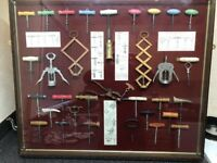 Really unusual corkscrew collection, highly collectable pieces ideal for commercial display