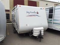 2007 JAY FEATHER 213 TRAVEL TRAILER