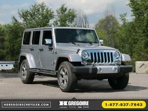 2015 Jeep Wrangler Unlimited Unlimited Sahara V6 4x4 AUTO A/C 2