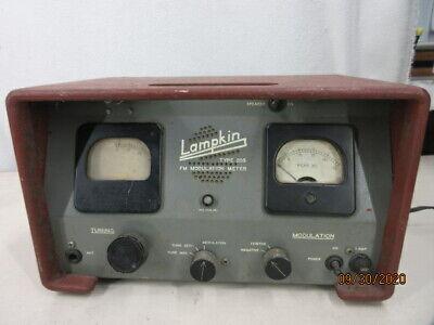 Vintage Lampkin Fm Modulation Meter Type 205