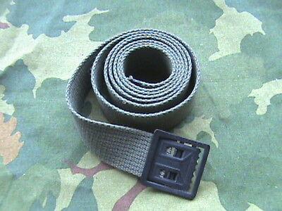 Vietnam War Uniform Web Belt Olive Drab #7  ( 1 1/4