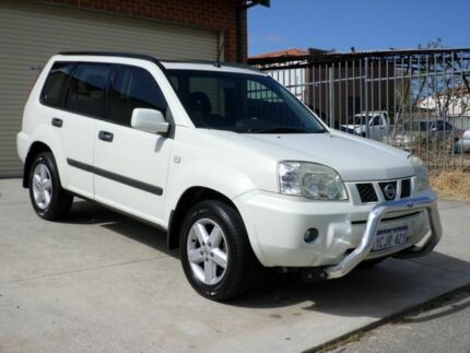 2006 Nissan X-Trail T30 II MY06 ST-S 40th Anniversary White 4 Speed Automatic Wagon Mount Lawley Stirling Area Preview