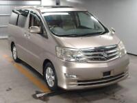 Toyota Alphard 3.0 MX-L LTD LOW KM 8 SEATS 11/2006 GRADE 4 (32,000 MILES) IN UK