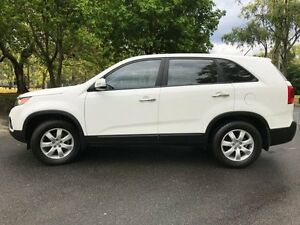 2010 Kia Sorento XM MY10 SI White 6 Speed Sports Automatic Wagon Herston Brisbane North East Preview