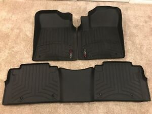 NEW PRICE!!! 2017/2018 INFINITI QX80 WEATHERTECH FLOOR LINERS