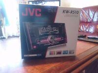 JVC KW-R520 Double Din Car Stereo - USB- AUX- MP3-VW GOLF