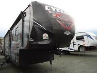 2015 Cyclone 4200 Toy Hauler 5th Wheel