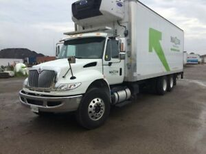 2018 International 4400 6x4, Used Reefer Van
