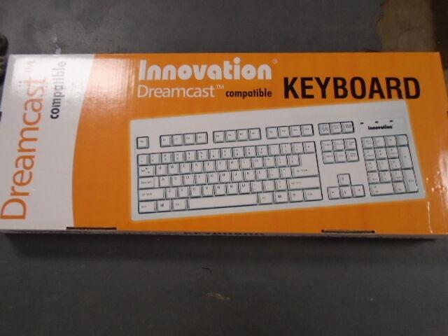 Sega Dreamcast Keyboard For Phantasy Star Online & Typing...