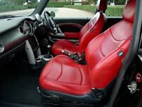 Mini Cooper S 3-dr Hatch with CHILI pack and custom Sport leather seats