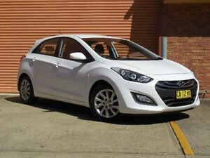 2014 Hyundai i30 GD MY14 Active White 6 Speed Automatic Hatchback Castle Hill The Hills District Preview