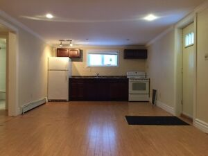 Two Bedroom Partially Above Ground Basement Apartment