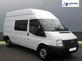 2012 Ford Transit 350 H/R Diesel white Manual