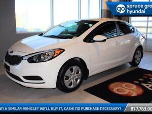 2016 Kia Forte LX 6 SPD MANUAL SEDAN WITH BLUETOOTH