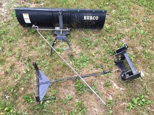 "Berco 48"" Snow Blade for John Deere Lawn and Garden Tractor"