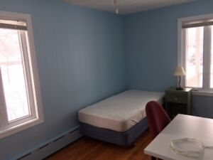 All inclusive furnished rooms: Sept.-Dec. Great house/location!