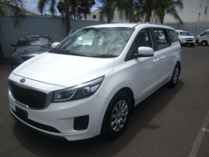 2016 Kia Carnival YP MY16 S Clear White 6 Speed Sports Automatic Wagon Melrose Park Mitcham Area Preview