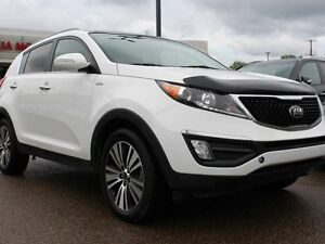 2015 Kia Sportage SUNROOF, COOLED/HEATED SEATS, BACKUP CAM, AUX/