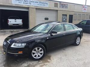 2005 Audi A6-AWD-LEATHER-HEATED SEATS-SUNROOF-LOADED-ALLOYS
