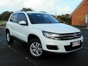 2015 Volkswagen Tiguan 5N MY16 118TSI 2WD White 6 Speed Manual Wagon Chermside Brisbane North East Preview